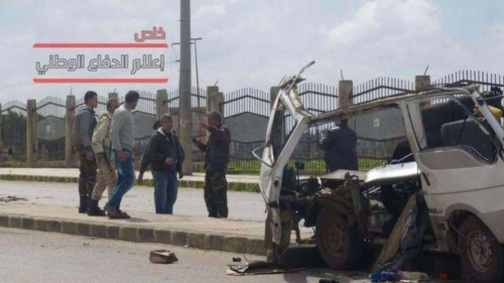 Bom yang Targetkan Pasukan Rezim Asad Meledak di Homs  Tampak sejumlah teroris rezim Asad di dekat reruntuhan minibus 7 orang terluka akibat bom yang ditanam di minibus itu . (Foto: Pertahanan Nasional)  HOMS (SALAM-ONLINE): Sejumlah orang terluka oleh ledakan di wilayah basis rezim Basyar Asad di Provinsi Homs Suriah Barat lapor media pro-rezim (14/5) sebagaimana dikutip Orient-News.  Sumber-sumber lokal melaporkan sebuah ledakan keras terdengar di lingkungan Wadi al-Zanab. Menurut…