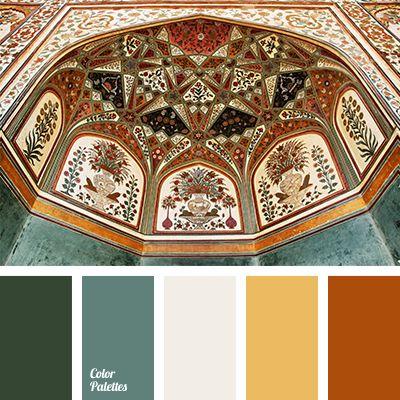 Color Palette #1590 Pumpkin door...pots???
