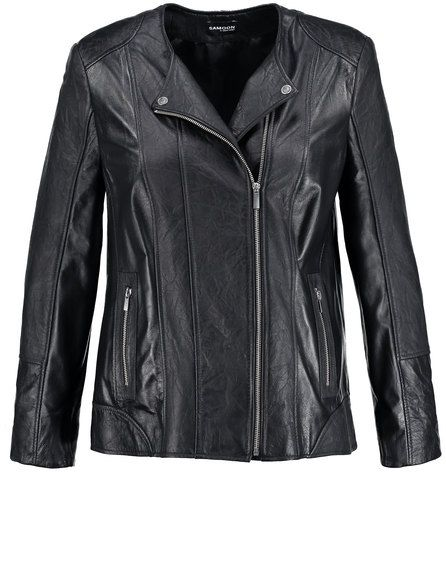 Een hoge kwaliteit lederen jas in sportieve biker stijl! De verfijnde patch en het gladde leer onderstrepen het stijlvolle, ongedwongen karakter. Met ... Bekijk op http://www.grotematenwebshop.nl/product/hoogwaardig-lederen-jack/