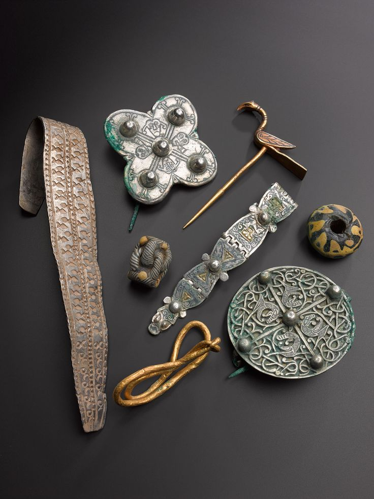 A selection of treasures found in the Galloway Hoard.  We've been give the chance to save the Hoard for the nation. Donate now to secure the Hoard and unlock its secret: www.nms.ac.uk/hoard