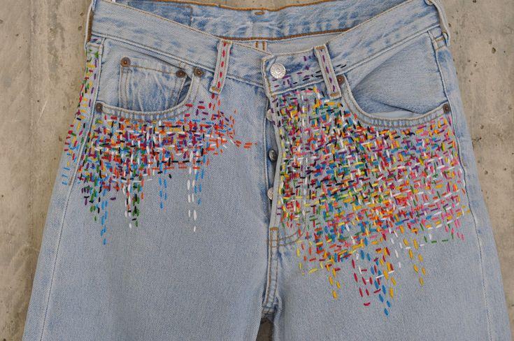 Distressed Vintage Boyfriend Jeans/Hipster Jeans/All Sizes/Grunge Jeans/boho/vintage jeans/womens jeans 3