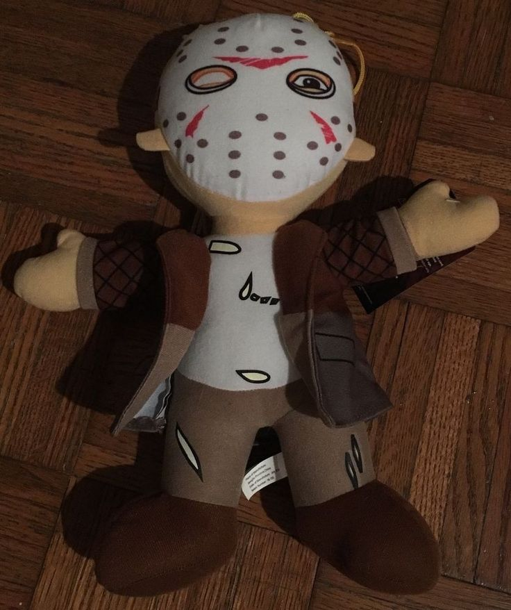 Jason Voorhees from Friday the 13th plush by Toy Factory. New with tags. Ships out the next business day. Thank you.   eBay!