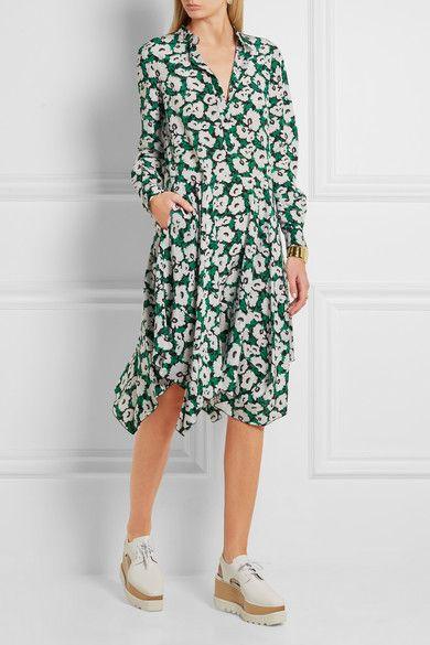 Stella McCartney | Rita floral-print silk crepe de chine dress | NET-A-PORTER.COM