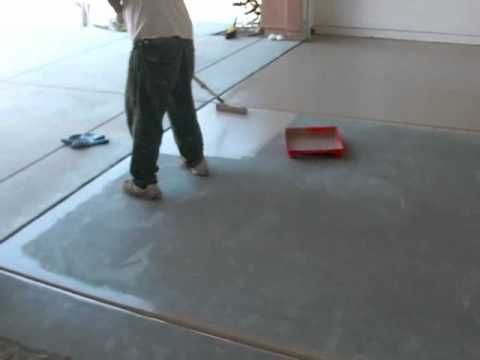 how to clean epoxy garage floor