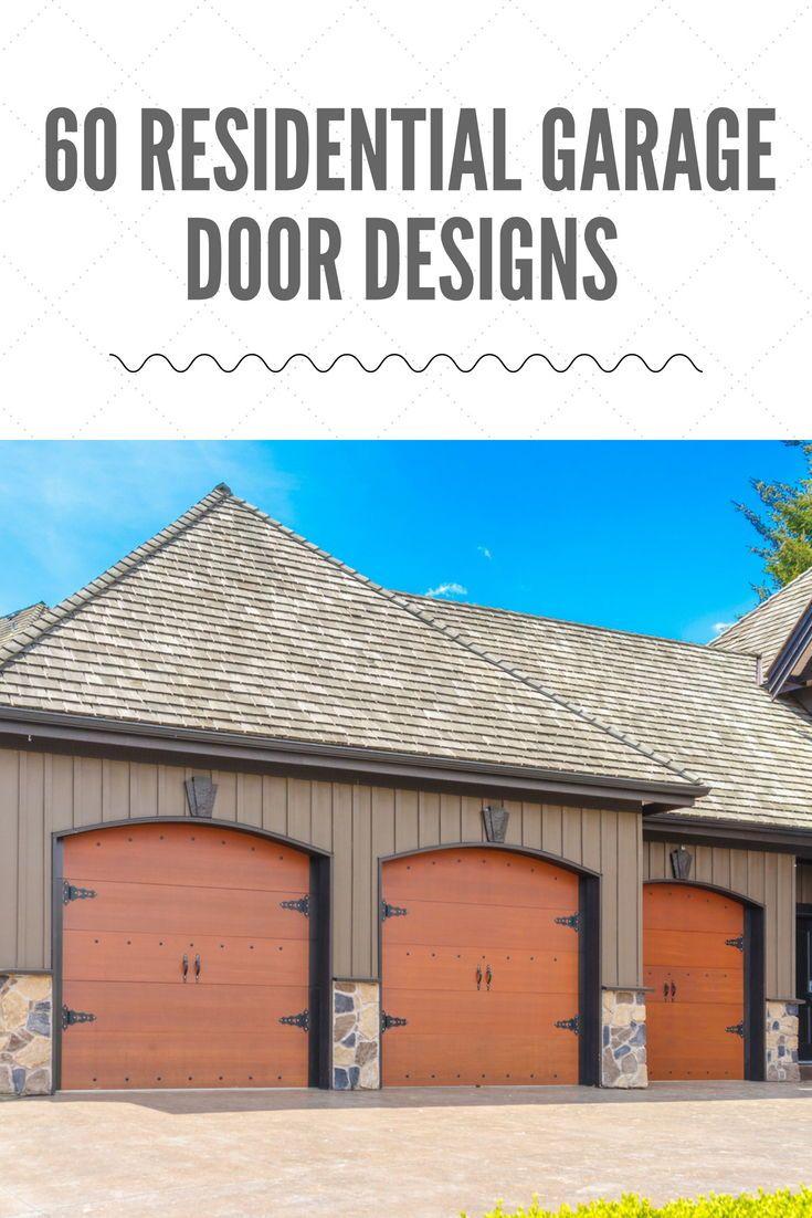 residential garage door designs pictures home exteriors