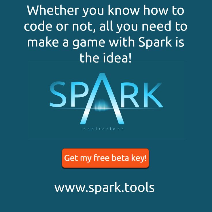 Just a simple poster for Spark Game Engine - Sign up for a free beta key and early access at www.spark.tools #gamedev #indiedev