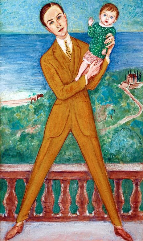 Nils Dardel 1923 (my daughter) by Nils Dardel (Swedish 1888-1943)