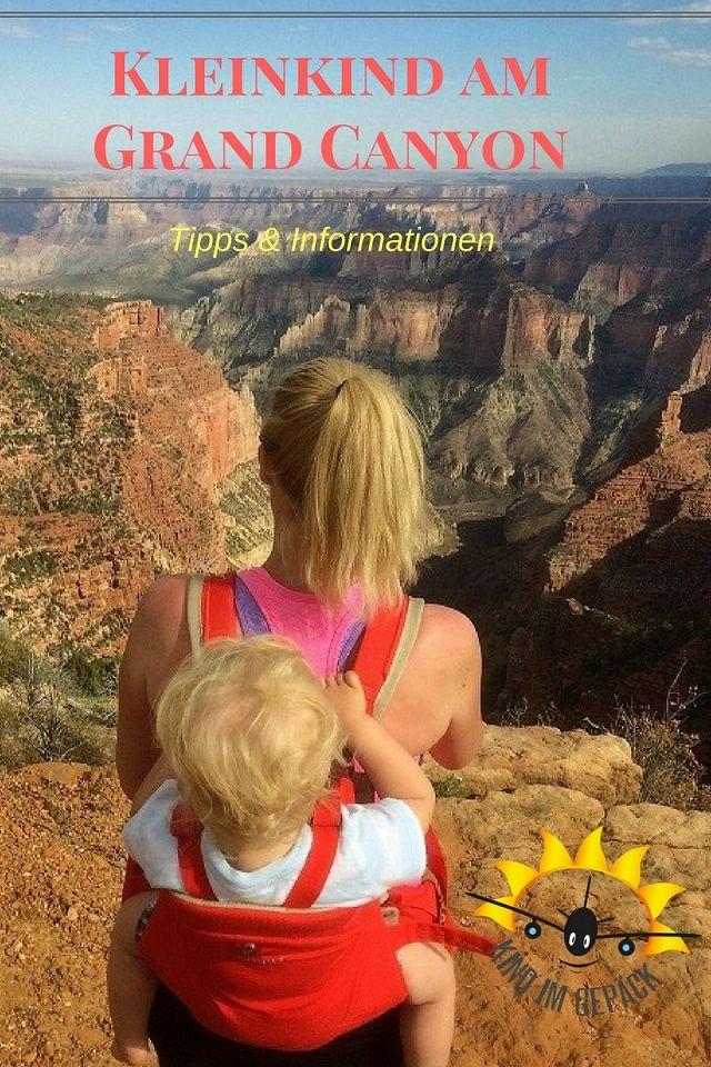 USA mit Kleinkind: Tipps und Informationen zu einem Besuch des Grand Canyon Nationalpark.
