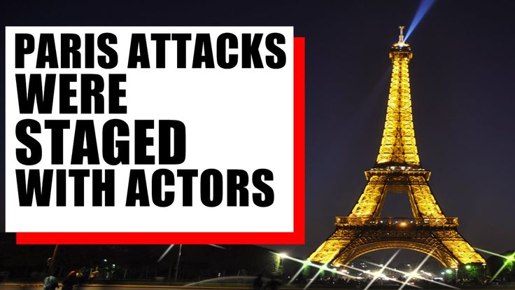 Conspiracy Theorists: Paris Attacks Were Faked Using Crisis Actors React...