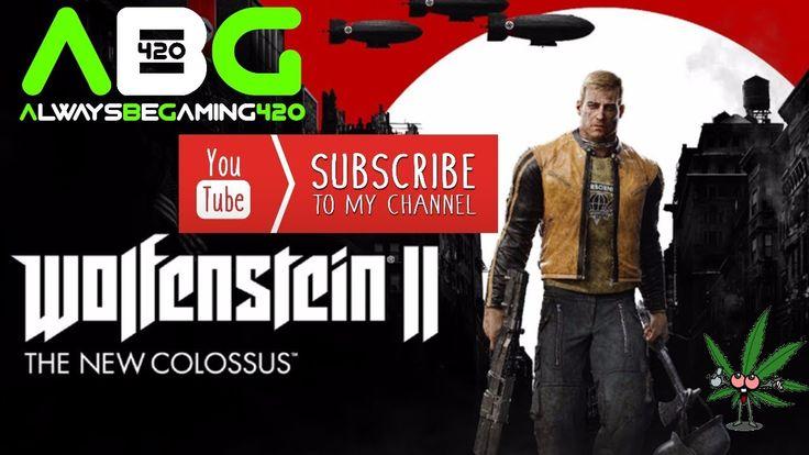 Wolfenstein 2 The New Colossus Gameplay Part 1 - Prologue (Wolfenstein II Playthrough) - YouTube https://youtu.be/EELhpyzIfaE