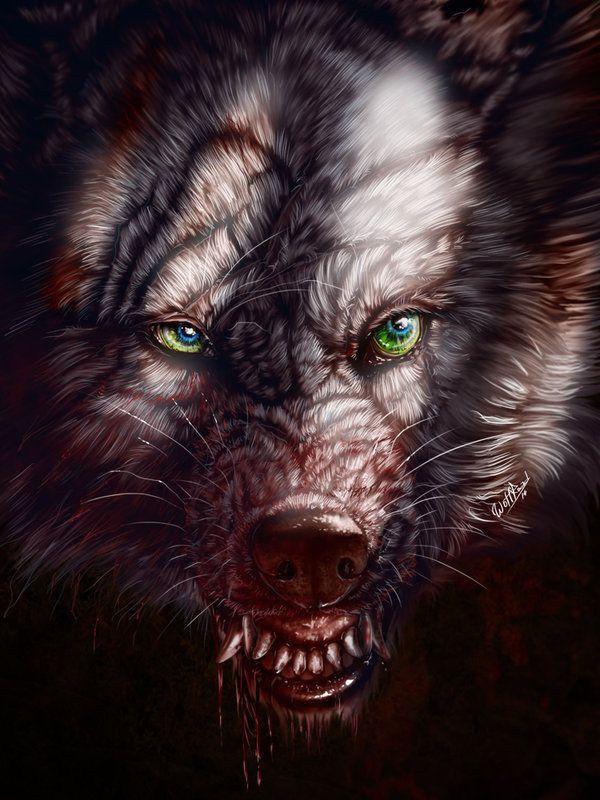 Страшный зверь картинка