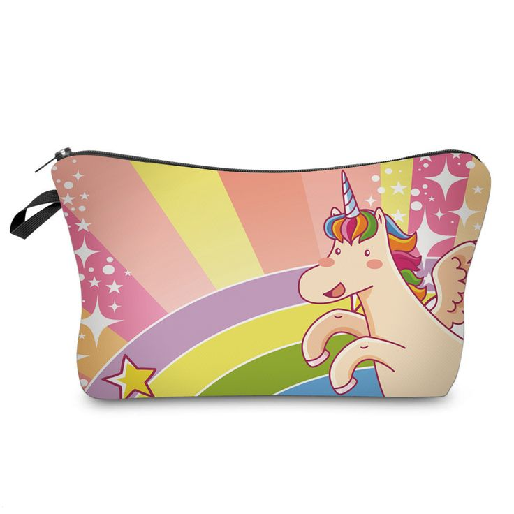 Rainbows & Unicorns - Check out this cute pencil case by Itzi Bitzi