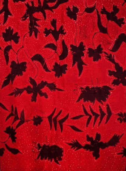 Batik tulis Pamekasan Warna merah dari galeripos.com