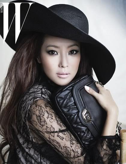 Kim Hee Sun (김희선) – W Magazine September 2011