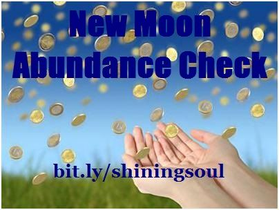 ShiningSoul: New Moon Abundance Check #July / Cheque da Abundân...
