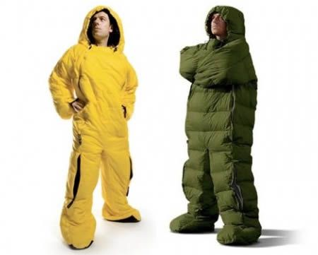 Sleeping Bags are great, but don't you just hate getting out of them? Now you don't have to with the SELK sleeping bag suit
