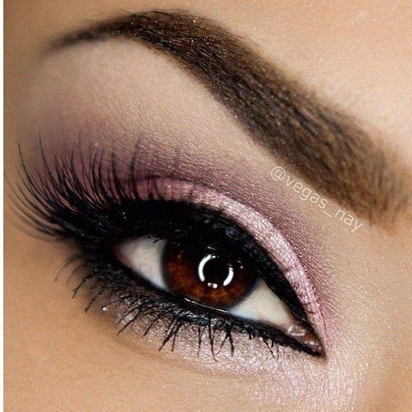 Il miglior make up per chi ha occhi marroni -Non c'è nuances che più fa risaltare un'iride marrone del color rosa. Rosa perlato con un tocco di viola e lilla, …