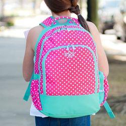 Stylish Monogram Gifts Dottie Backpack