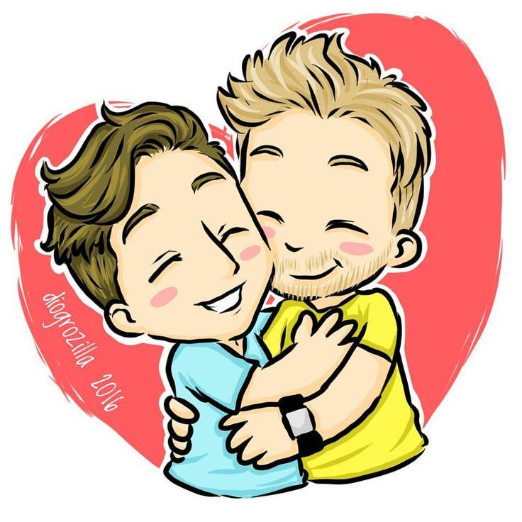 Muito amor pra vocês ❤ #diogrozilla #lubatv #luba #lubafanart #ilustracao #desenho