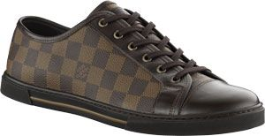 2010 Louis Vuitton Men Shoes – Sneakers (Dark Color)