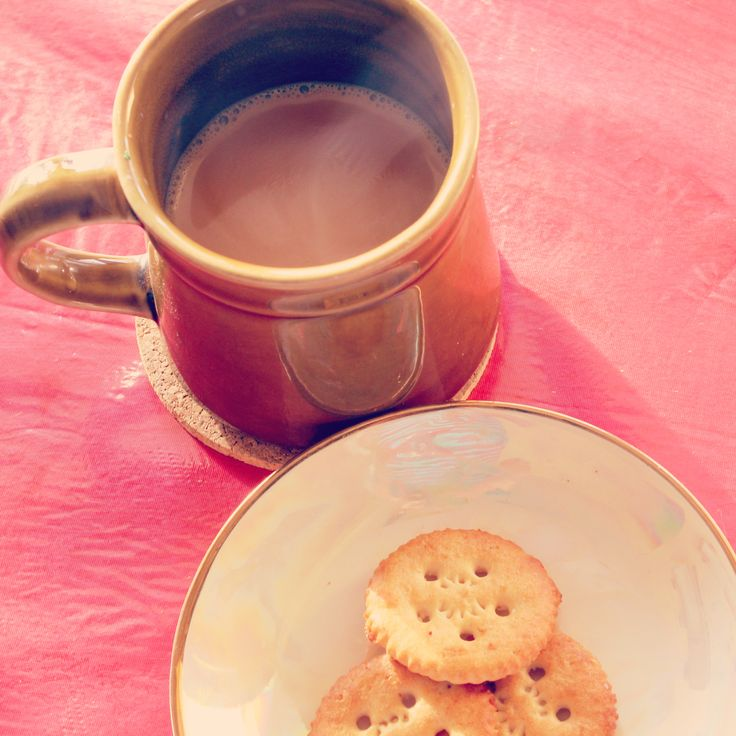 """""""Given a tea, I can #rule the #world"""" True that #quote :D #tea #mug #Good #Morning #biscuits #Energy #Tonic #cup #stoneware #Photography"""