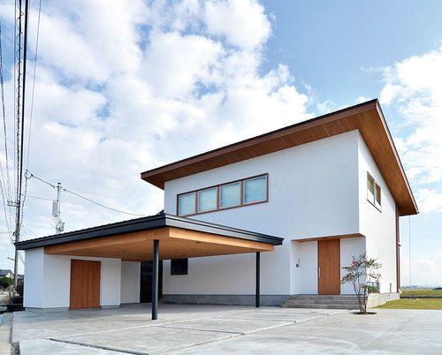 建築実例「ダイナミックな設計とシンプルデザインが魅力! 最高の眺望を楽しめるリゾート感覚の家 」クマガイ建創 | 家づくりナビ