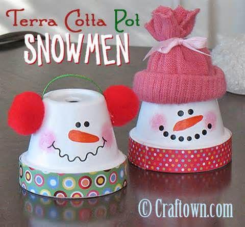 Terra Cotta Pot Christmas Crafts - Bing Bilder