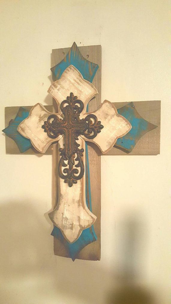 34 best crosses images on Pinterest | Crosses, First holy communion ...