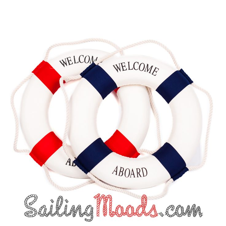 Lifebuoy Welcome Aboard 47cm http://sailingmoods.com/en/home/63-lifebuoy-welcome-aboard-47cm.html
