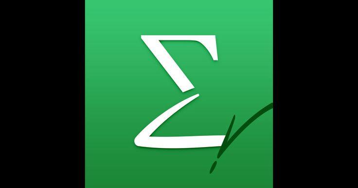 「MyScript MathPad」