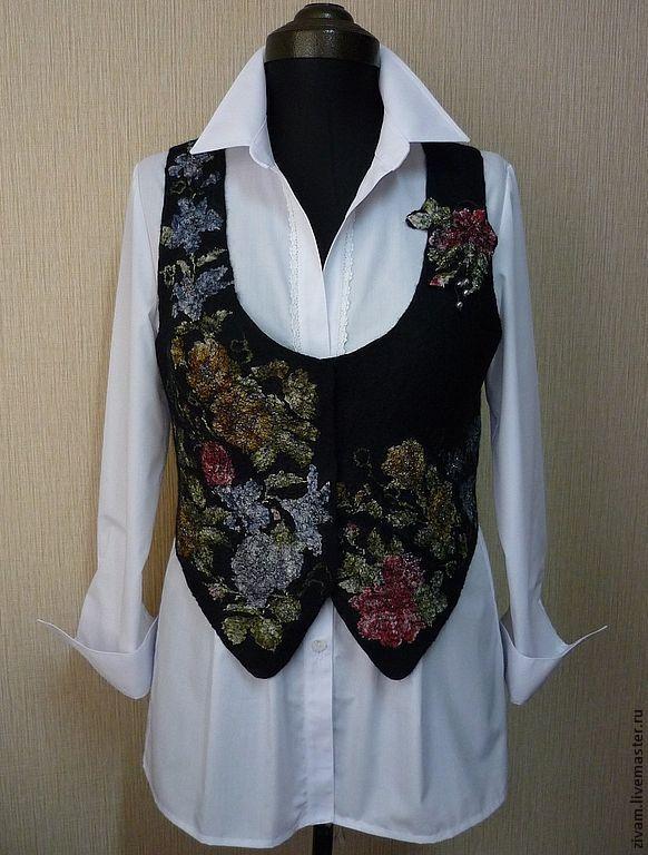 """Купить Белая блуза-рубашка """"Офисная"""" - белый, офисный стиль, белая блуза, белая рубашка"""