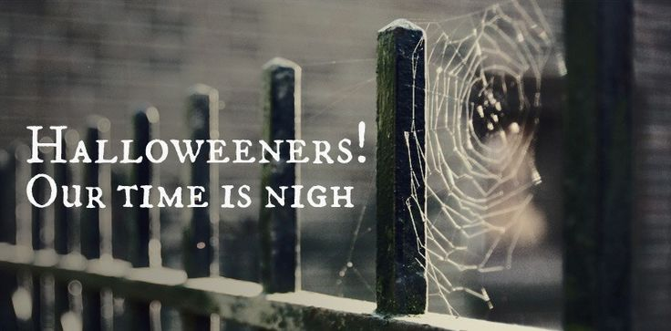 Halloweeners! Our time is nigh.  Excellent Photo editor, maybe make one of each guest :o)