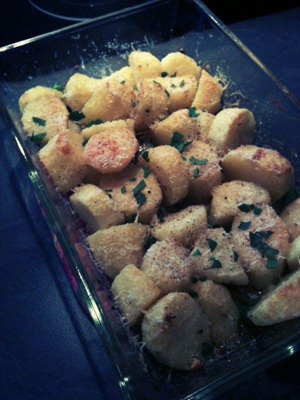Pommes de terre rôties au Parmesan