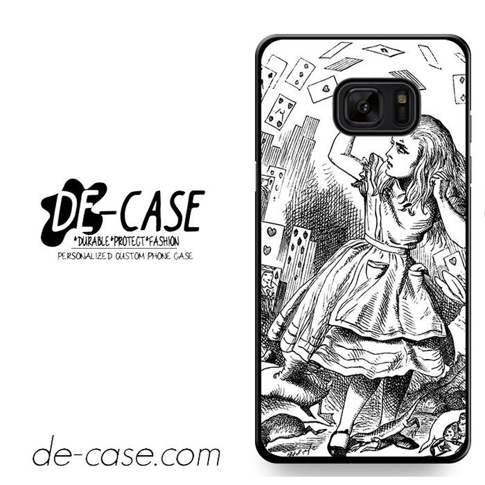 Alice's Adventures In Wonderland Drawings DEAL-551 Samsung Phonecase Cover For Samsung Galaxy Note 7