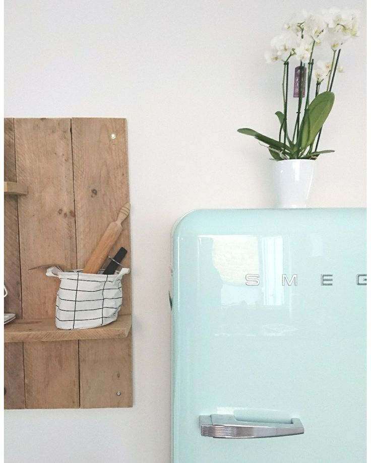 Kitchen smeg wood homedeco wooninspirarie