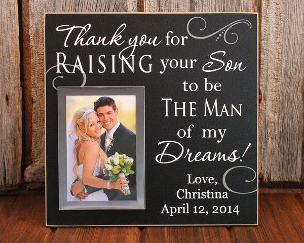 Best 25 parent wedding gifts ideas on pinterest wedding gifts mementos inlaw wedding gift bride parent wedding gift junglespirit Image collections
