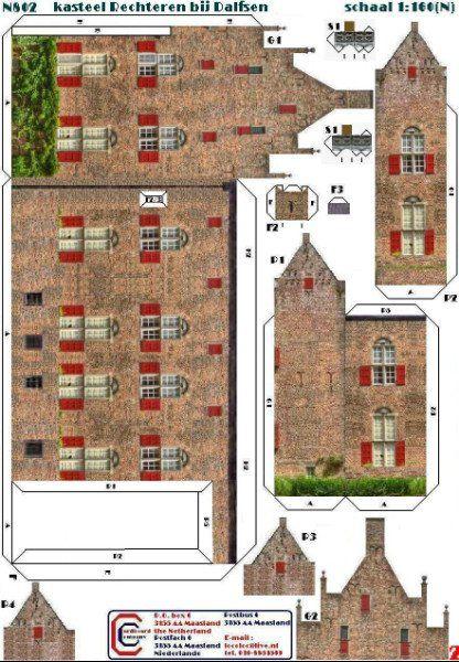 Pin Van Elnobel Op Patterns And Templates Paper Houses