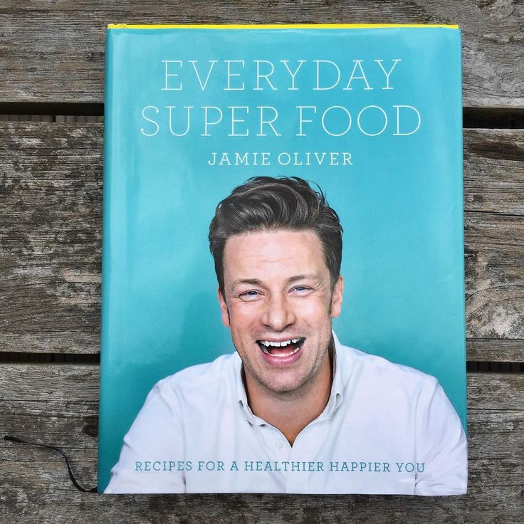 """Everyday Super Food by Jaime Oliver: """"This book is full of well-rounded, balanced recipes that will fill you up and tickle your taste buds, and because I've done all the hard work on the nutrition front, you can be sure that every choice is a good choice. """" #Books #Cookbook #Healthy_Eating"""