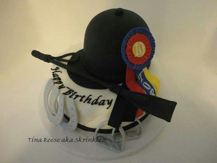 Horse riding-equestrian birthday cake   Cakes I Made ...