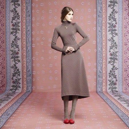 Капсульная коллекция платьев Ульяны Сергеенко осень-зима 2013-2014