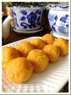 Sweet Potatoes Balls (Cucur Badak or 番薯蛋)#guaishushu #kenneth_goh#sweet_potatoes_balls#cucur_badak#番薯蛋