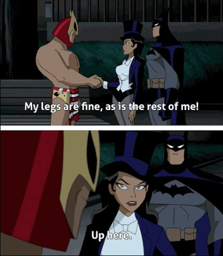 Zatanna would say this like 100x a day. | 22 Times The Justice League Proved Their Superpower Is Sass