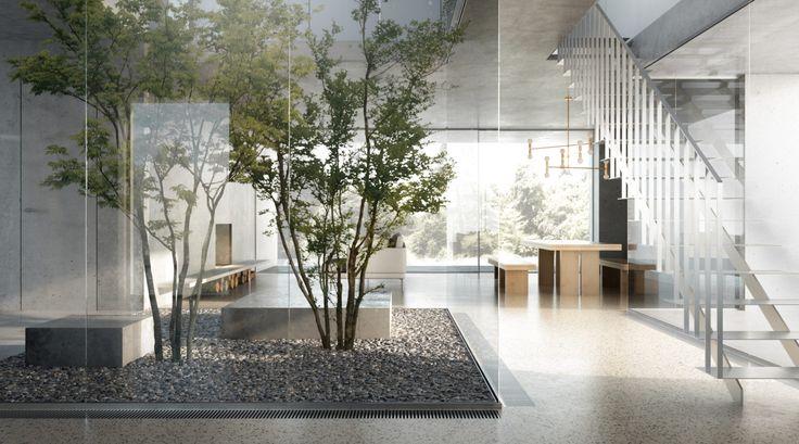 living room visualization / DAAKO studio