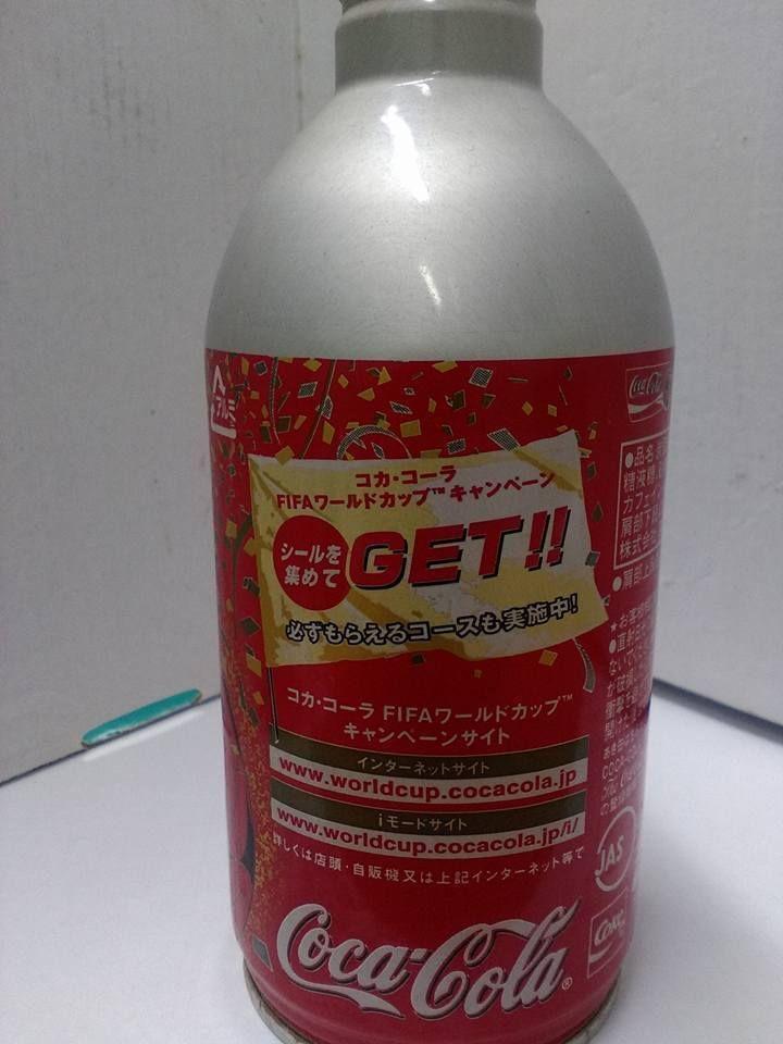 Coca Cola Koke Korea Japan 2002 FIFA Wold Cup Alluminium Bottle Special Editio   eBay