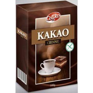 Kakao tmavé odtučnené bezlepkové Celiko 100g