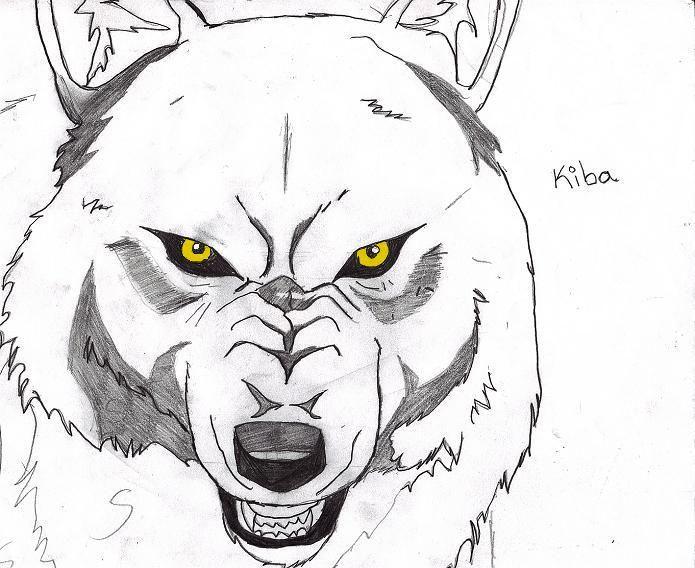 wolfs rain - kiba by bloodyrose91.deviantart.com on ...