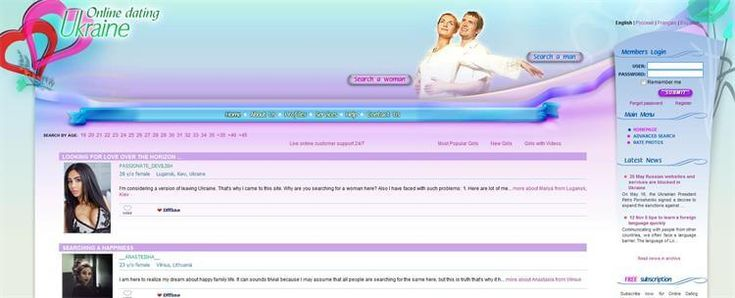 Online-Dating-Ukraine is a top Ukranian dating site that provides facilities for singles to find their perfect match.