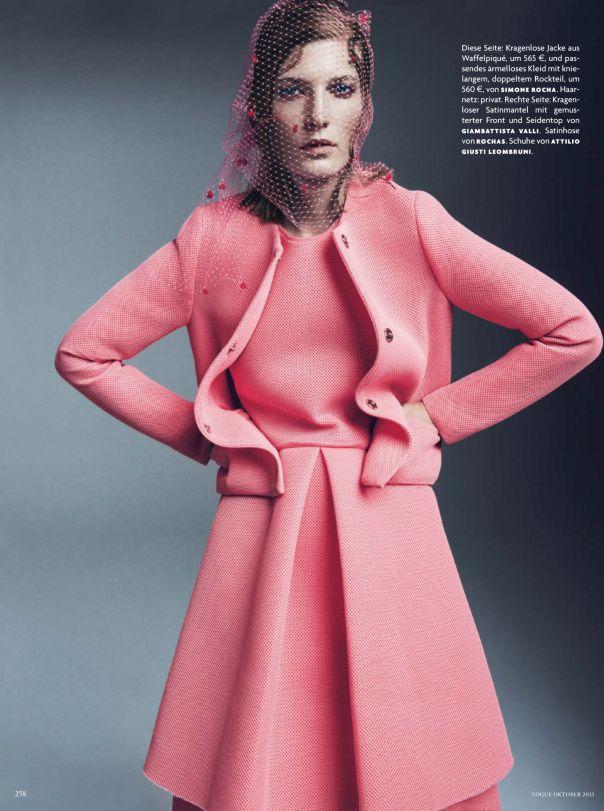 Vogue Germany October 2013 Model: Valerija Kelava