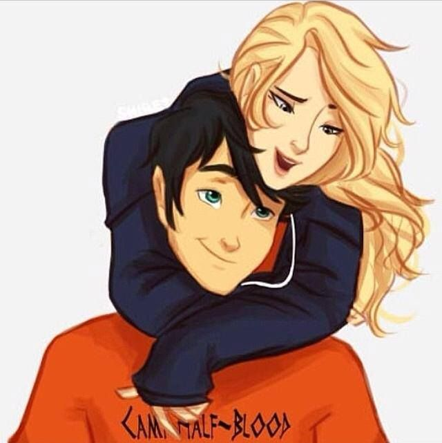 Pure adorabubbleness. (That's Percabeth!)> She has got his sweater on!! More