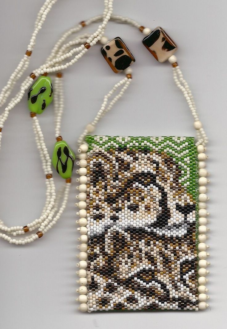38 best beading amulet bags images on beaded